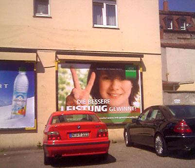 Billboard in Germany