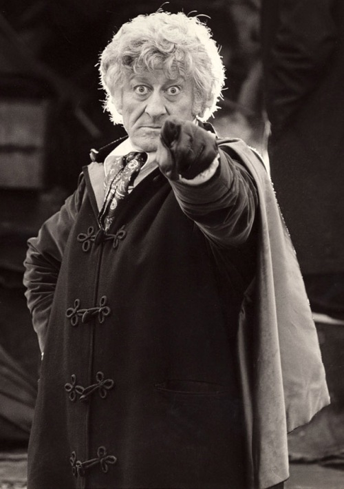 John Pertwee as the third DCtor Who