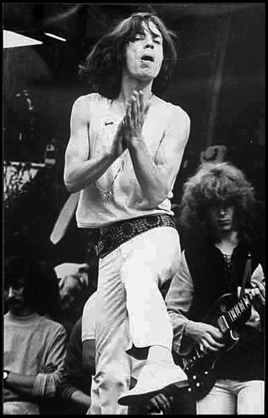 Mick Jagger, Hyde Park free concert, 7th May 1969