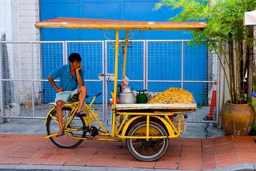 Peanut vendor, Malaysia