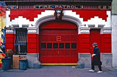 Fire Station, New York City