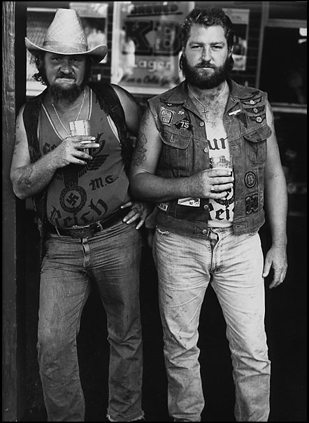 Bikers, Tamworth, circa 1982
