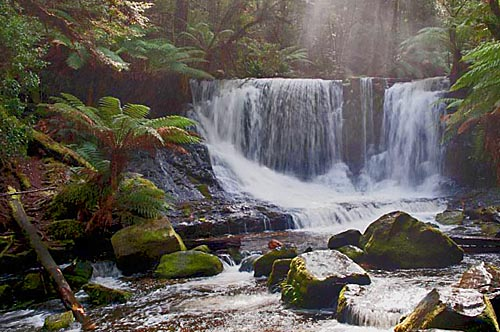 Horseshoe Falls, Mount Field National Park Tasmania