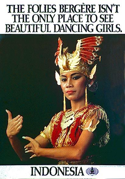 Javanese dancer, Jogjakarta, Indonesia