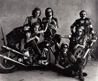 Hells Angels by Irving Penn