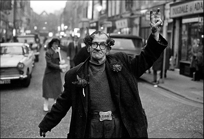 Rosie a well known soho street character of the 60s gerrard street soho rob walls 1969