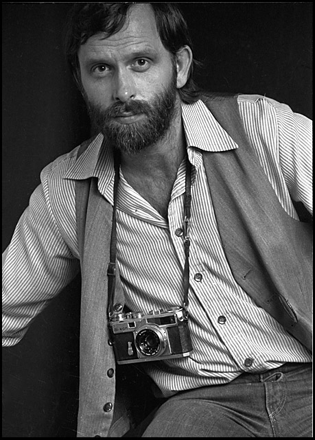 With my Nikon SP and the 25mm wide angle, circa 1977 © Rob Walls